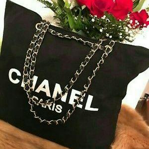 VIP black canvas bag